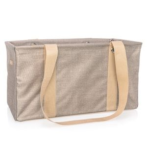 Thirty-One Medium Utility Tote - Frosted Gold